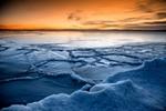 在青海湖畔追逐日出日落