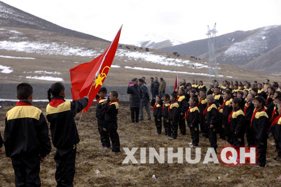 青海省果洛藏族自治州达日县民族小学在海拔