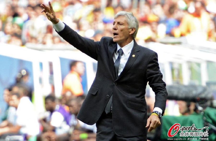 罗德里格斯/哥伦比亚主教练佩克尔曼