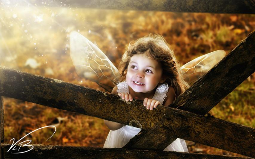 酷炫到极致的定制写真 摄影师拍出儿童梦想