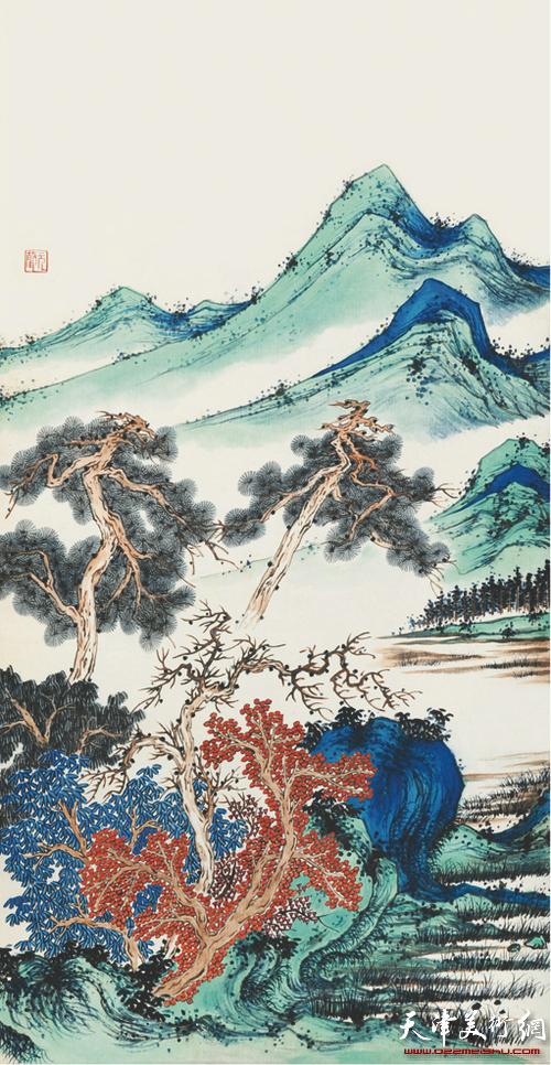 湖社遗韵 贾元声作品展8月6日在天津图书馆举