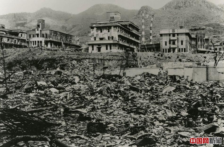 广岛原子弹爆炸70周年今昔对比3/ 10