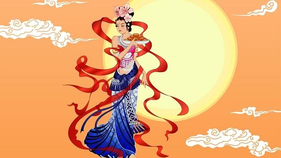 中秋节素有吃月饼,团圆蛋习俗:相互表达祝福