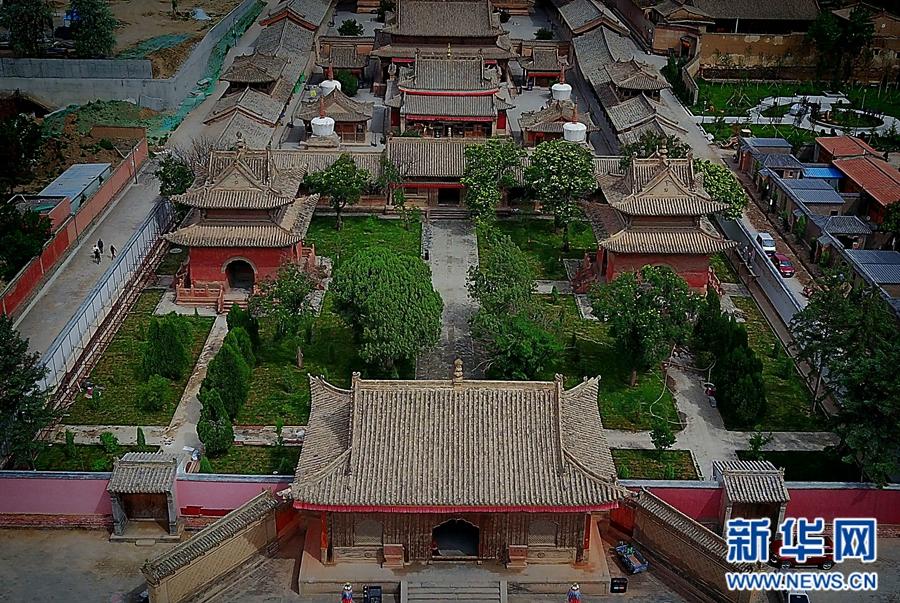 """瞿昙寺——青藏高原的""""小故宫"""""""
