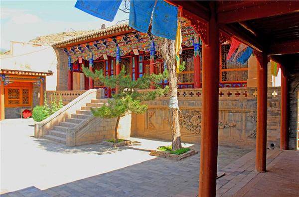 藏族佛堂装修效果图