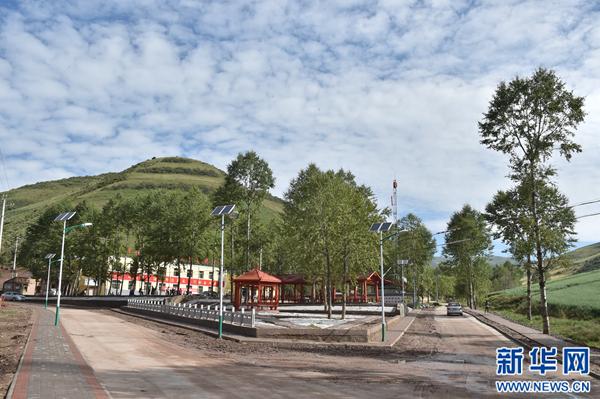 开启了青海省西宁市大通回族土族自治县青山乡沙岱村脱贫致富的新天图片