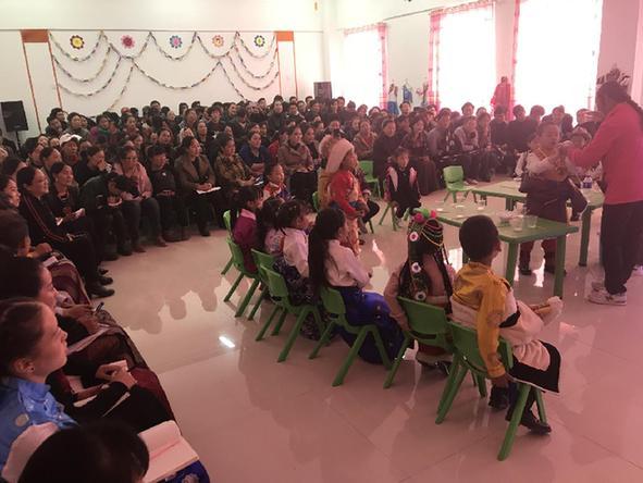 同德县举办幼儿教师公开课展示活动
