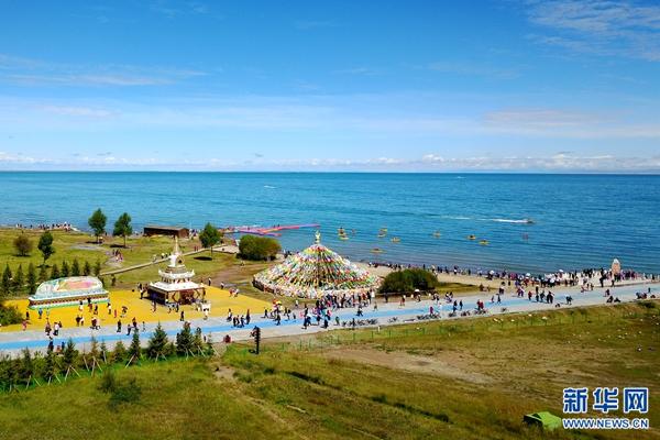 青海湖景区持续完善旅游服务设施着力打造优质旅游
