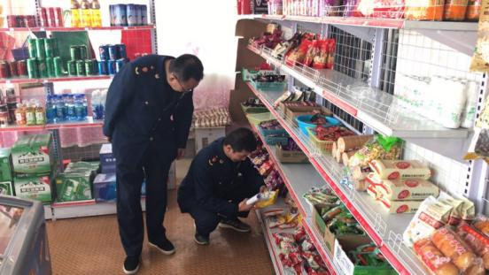 河阴市场监管所开展学校周边食品安全整治工作