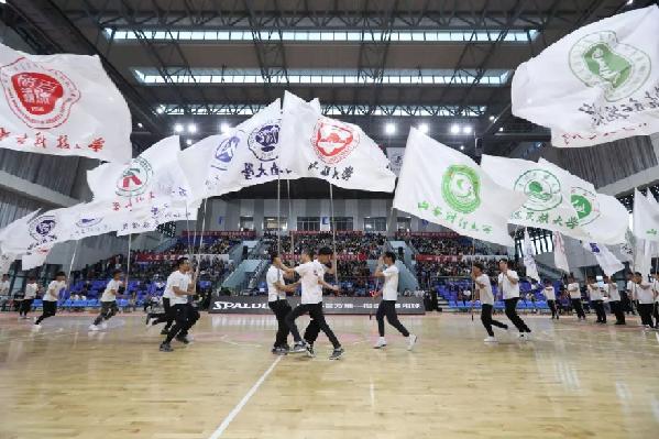 中国大学生篮球联赛(CUBA)西北赛区比赛开赛