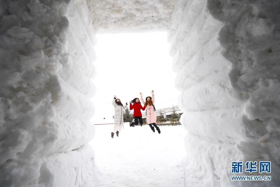 这个冬天,在门源感受一场冰雪盛宴