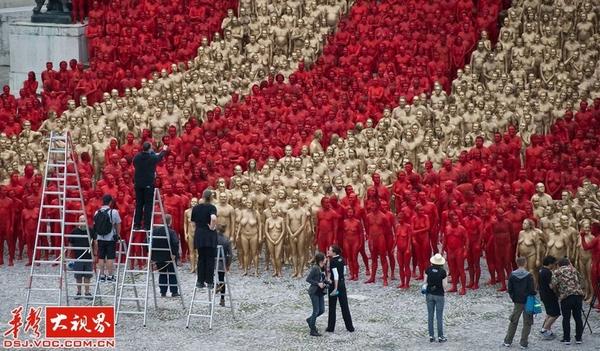超级震撼!人体艺术摄影大师的赤裸世界