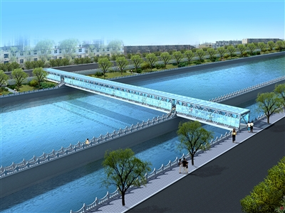 西宁市将再建五座人行桥方便湟水河南川河群众图片
