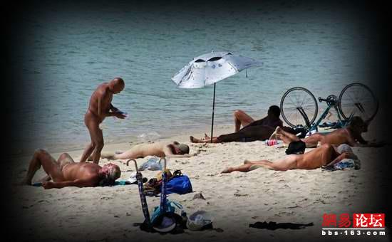 三亚现全裸天体海滩