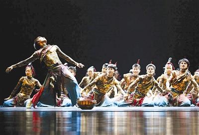 藏舞为国际舞蹈节锦