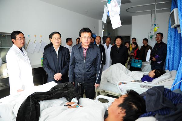 格尔木市受伤旅客救治工作正在积极开展中