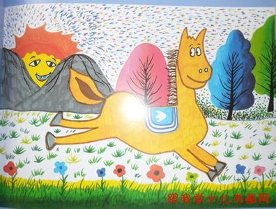 简单儿童画马内容图片展示_简单儿童画马图片下载  推婴儿车的人简笔
