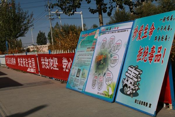 都兰县开展法治政府建设集中宣传活动