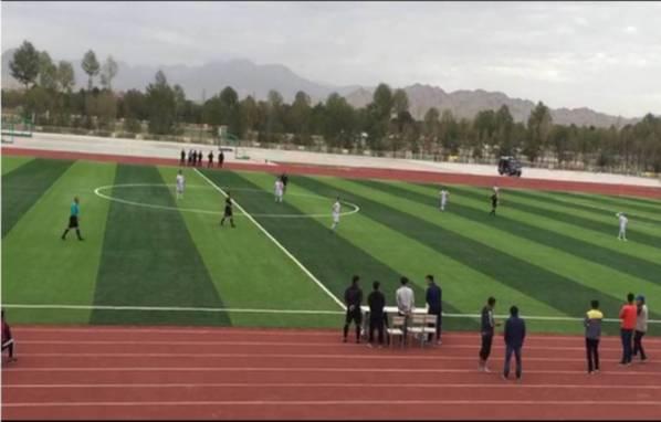 海西州第二届 民族团结杯 足球比赛开幕