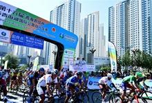 自行车——第十六届环青海湖国际公路自行车赛第二赛段赛况