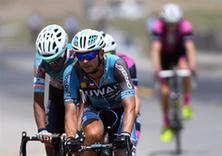 自行车——第十六届环青海湖国际公路自行车赛第三赛段赛况