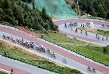 自行车——第十六届环青海湖国际公路自行车赛第八赛段赛况