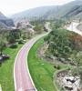 """西寧市城西區火燒溝將立足生態治理的多元發展,全面改善生態環境,形成""""一廊兩帶三核""""為中心的生態綠色廊道。"""