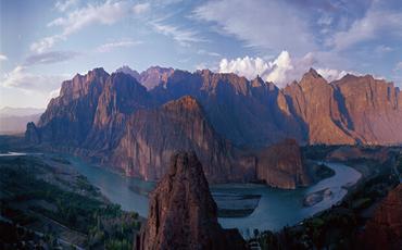 循化(hua)黃河--雲峰