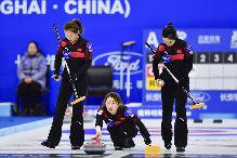 冰壺——青(qing)海(hai)國際精英賽︰中國女隊勝俄羅斯女隊