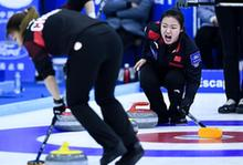 冰壺——青(qing)海(hai)國際精英賽︰中國女隊獲第四