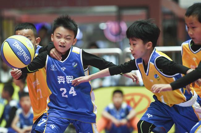 籃球——全國青少年籃球公開賽西寧賽區開賽