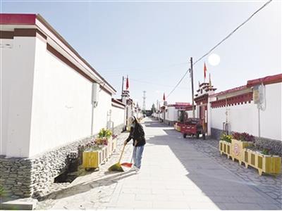 在長江源村感受幸福