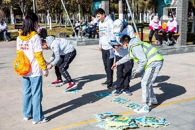 一場智力與體力相結合的比賽 吸引了一千多人參加
