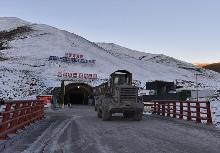 青海多隆隧道建設忙
