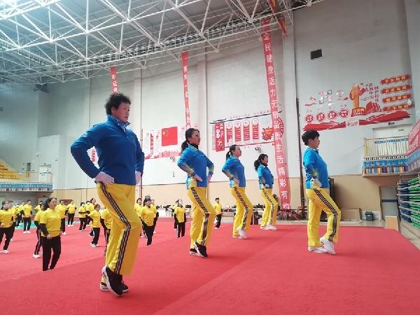 """""""建設文化強國·提升文化自信""""健身操舞專項培訓班圓滿結束"""