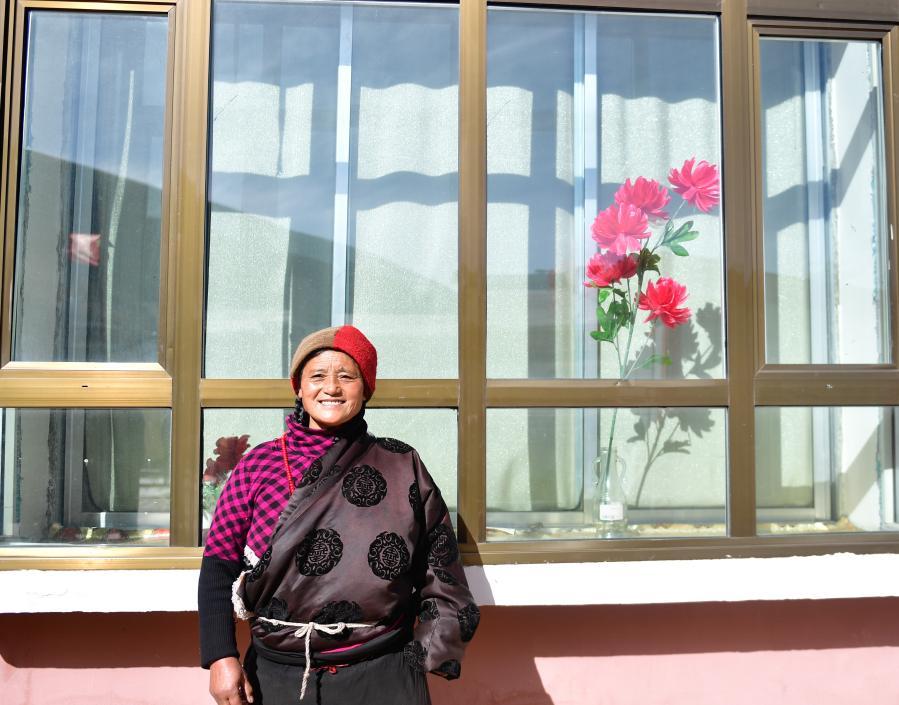 青海甘德:扶貧搬遷點裏的新生活