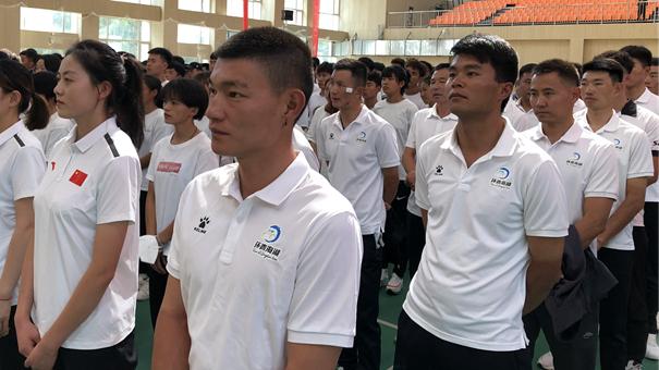 青海省58名運動員將赴陜西參加第十四屆全國運動會