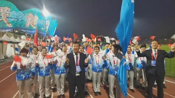第十四屆全運會開幕,青海58名優秀運動員參加全運會決賽階段比賽